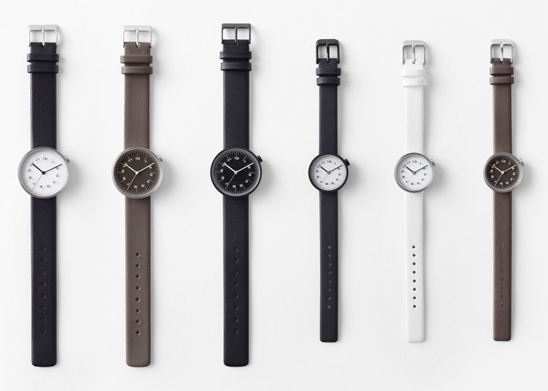 Nendo Draftsman watch collection