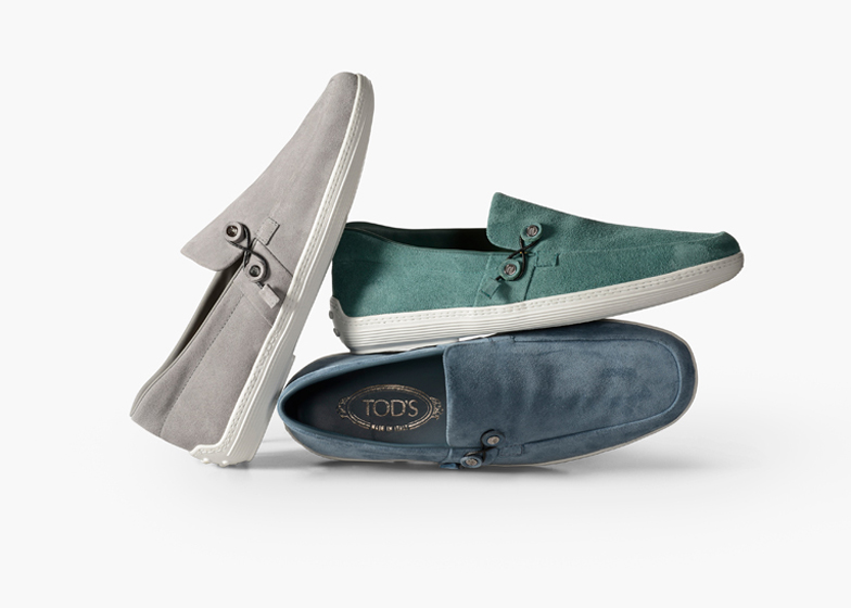 Nendo boat shoes for Tods