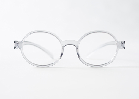 New reading computer glasses for Byn by Nendo