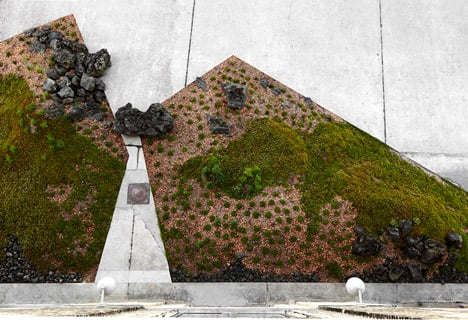 Noma restaurant landscaping by Polyform Architects