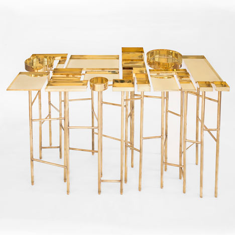 OCD Table by Esrawe Studio panders<br /> to compulsive organisation