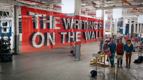 The Writing's On The Wall music video by OK Go