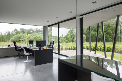Office Nete by Architectenbureau Wil-Ma