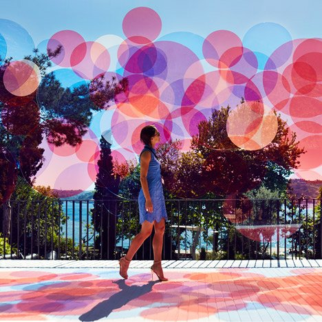 Paul Cocksedge transforms Istanbul sea view with installation of colourful circles