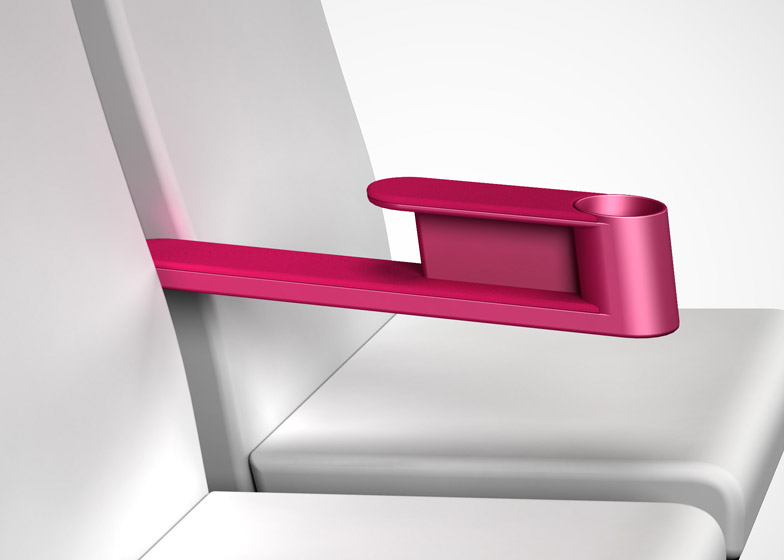 Paperclip Armrest by James Lee