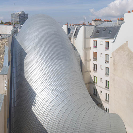 Pathe Foundation installation in Paris by Renzo Piano