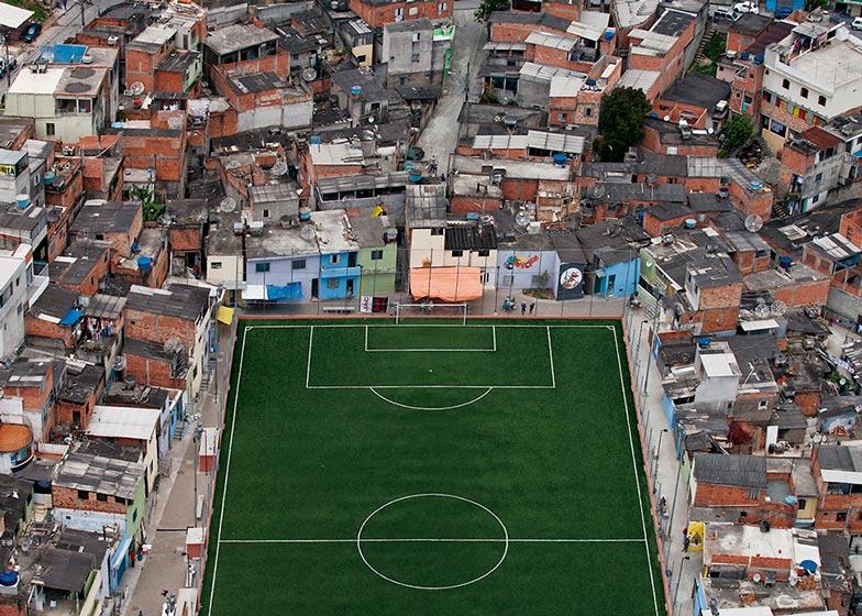 Pelada football pitch, São Paulo
