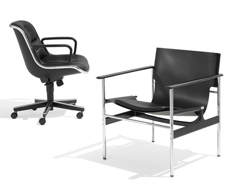 Pollock Arm Chair and Pollock Executive Chair for Knoll