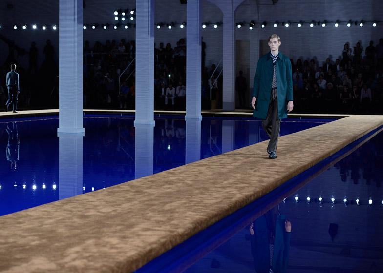 Rem Koolhaas' Prada SS15 catwalk
