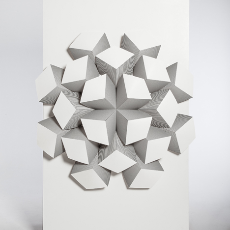 3D Surface by Emilie Osborne — One Year On 2013