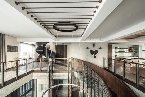 X intiandi Penthouse, Shanghai, China by Joyce Wang Studio