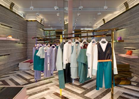 Roksanda Ilincic store by David Adjaye