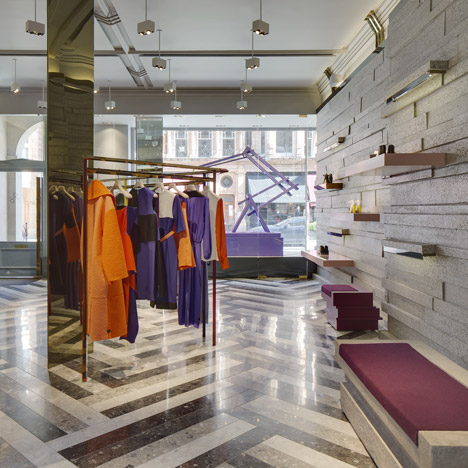 David Adjaye completes Roksanda Ilincic's<br /> first London boutique