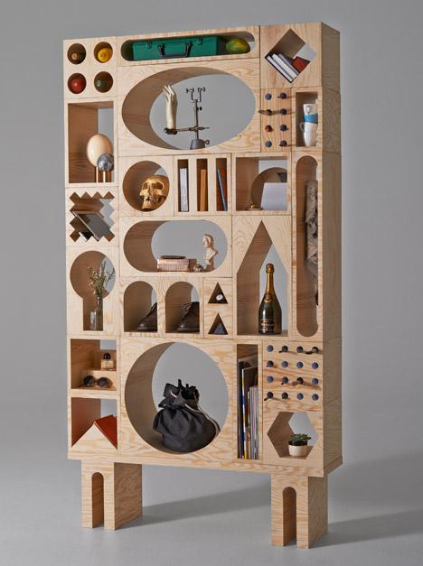 Room shelving unit by Kyuhyung Cho and Erik Olovsson