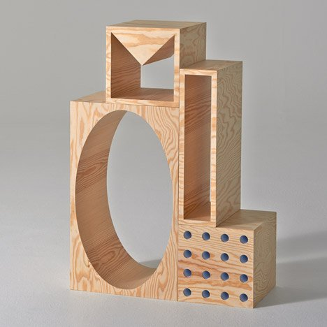 Room shelving unit by Kyuhyung Cho and Erik Olovsson