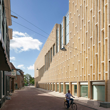 Rozet cultural centre by Neutelings Riedijk Architects wins Dutch Best Building award