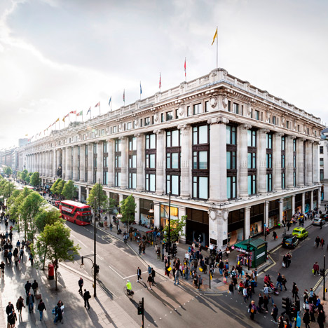 David Chipperfield to overhaul London's Selfridges department store
