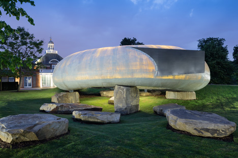 Serpentine Gallery Pavilion 2014 by Smiljan Radic