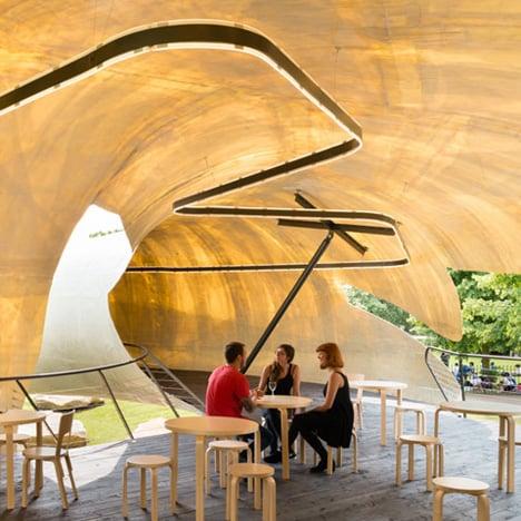 "Smiljan Radić's Serpentine Gallery Pavilion looks like a crude model ""made by a giant"""