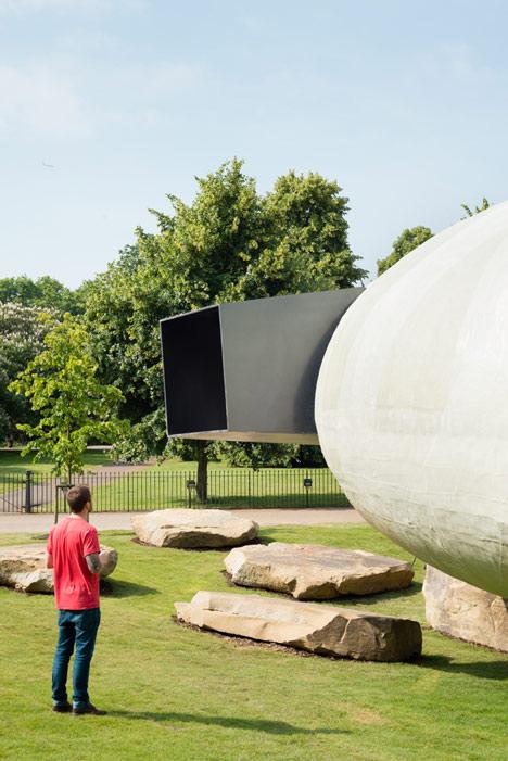 Serpentine Pavilion photographed by Jim Stephenson