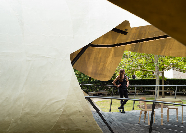 Serpentine Pavilion photographed by Jim Stephenson