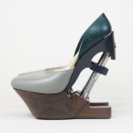 Silvia Fado designs impact absorbers for more comfortable high-heeled shoes