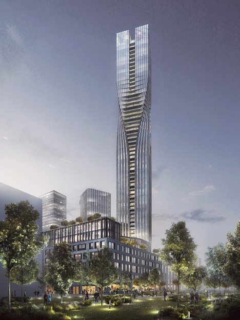 SOM's triumphs in Swedish skyscraper competition