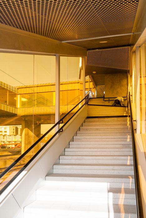 Skyttelbron in Lund by Metro Arkitekter