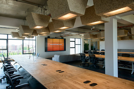 Soundcloud headquarters Berlin by Kinzo