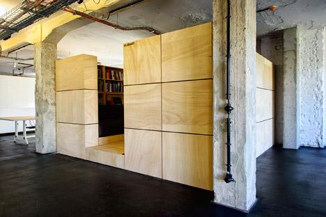 Soundcloud headquarters Berlin by Kinzo