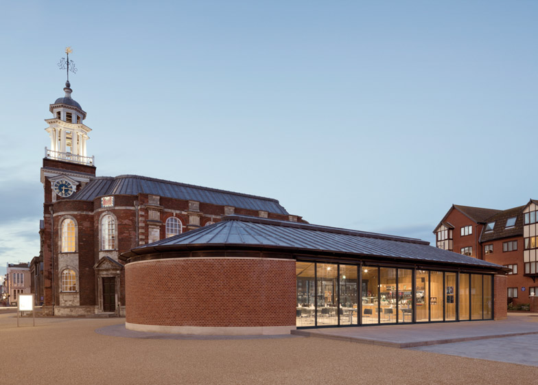 St Georges Chapel Great Yarmouth by Hopkins Architects