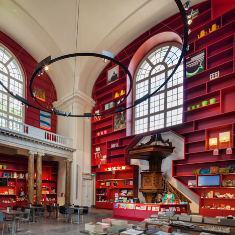 MVRDV converts a chapel into an entrance for the Stedelijk Museum Schiedam