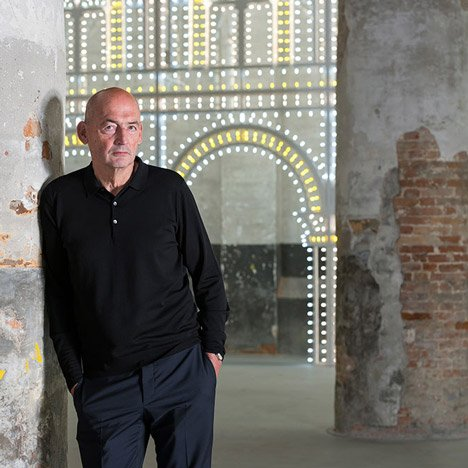 """Scary"" Venice Architecture Biennale show has ""nothing to do with design"" says Koolhaas"