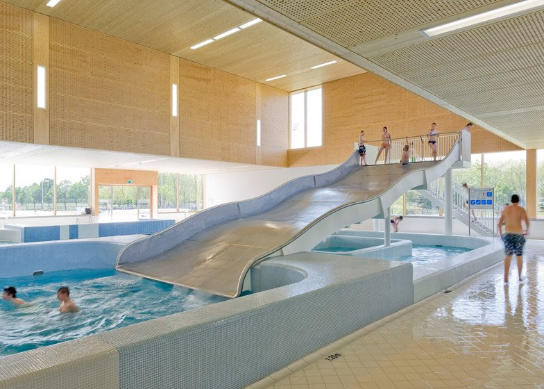 swimming pool complex by Slangen+Koenis Architecten - harry - 哈梨见竹视雾所
