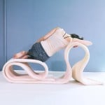 The Body by Kirsi Enkovaara can be twisted and folded to create endless seating shapes