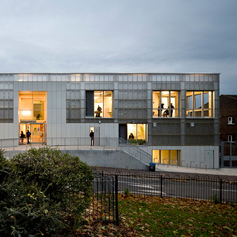 3novices ayre chamberlain gaunt completes angular youth for Youth center architecture