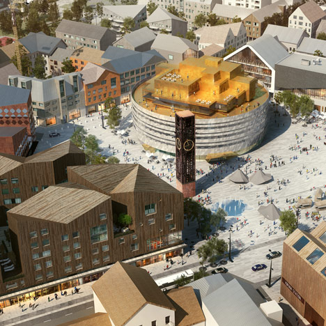 White Arkitetker unveils masterplan for Swedish city relocation