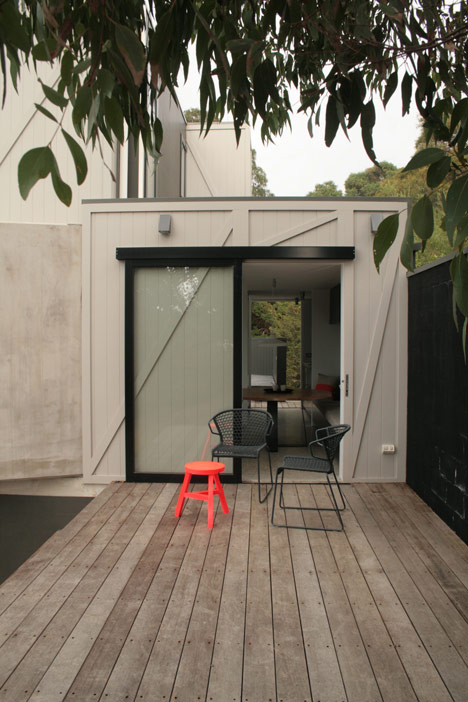 The Pod house by Whiting Achitects
