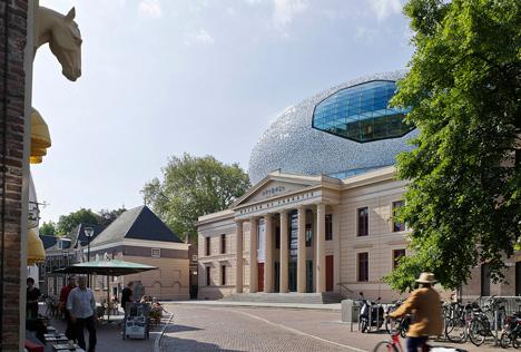 Uitbreiding Museum De Fundatie by Bierman Henket architecten