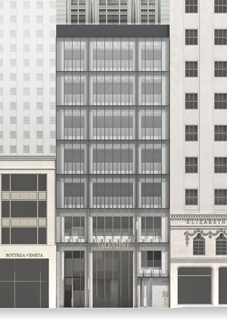 Valentino store New York by David Chipperfield