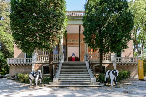 British pavilion at the Venice Architecture Biennale 2014