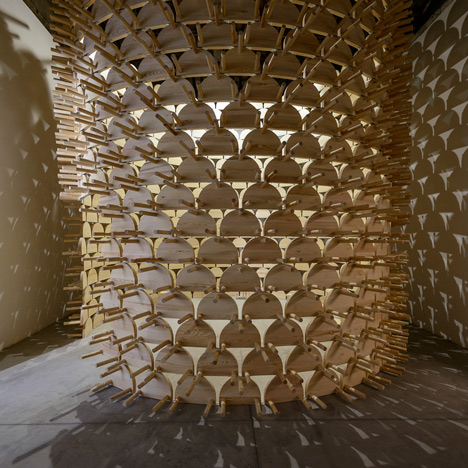 "Kosovo Pavilion explores ""erasure of regional identity"" with spiky tower installation"