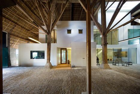 Verbouw Boerderij Friesland by Jelle de Jong architekten