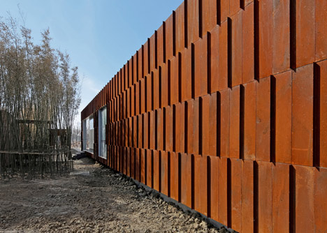 Visitor center in Kunshan China by Vector Architects