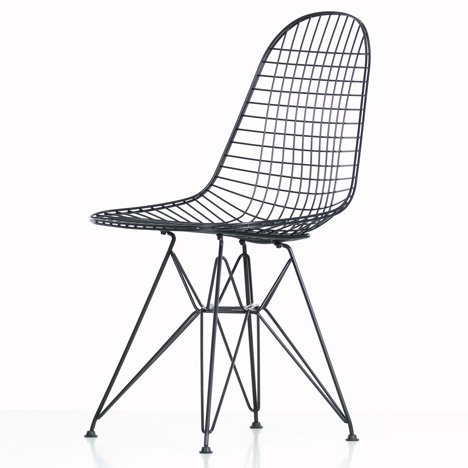 Beau Vitra Eames Wire Chair