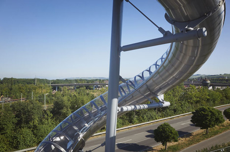 Vitra Slide Tower by Carsten Holler