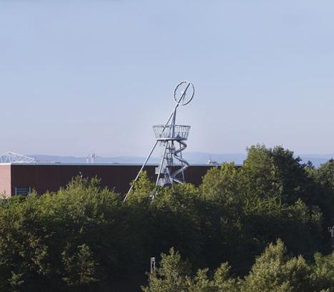 Vitra Slide Tower by Carsten Holler