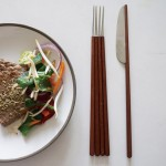 Wen Jing Lai mixes knives and forks with chopsticks to create Westiental cutlery