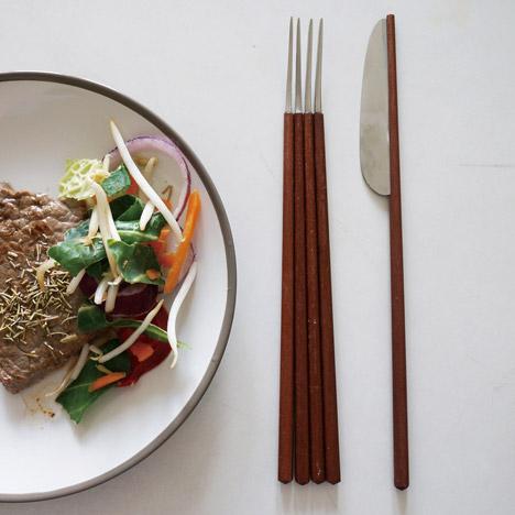 Wesiental Cutlery by Wen Jing Lai