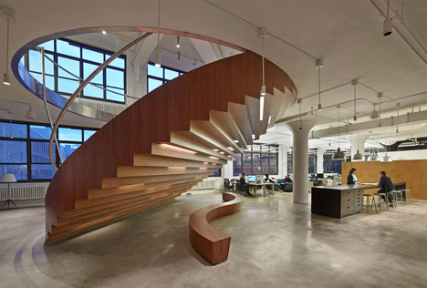 Wieden+Kennedy offices by Work Architecture Company